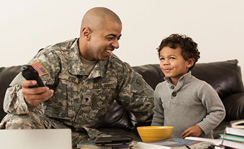 Military and veteran TV Deals with DISH TV